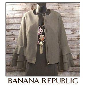 Bell Sleeve Blazer by Banana Republic